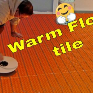 Warm tile floors here is how.